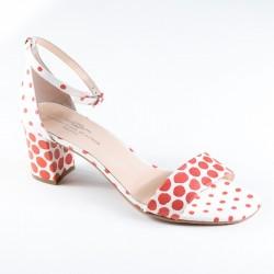 Sieviešu sandales uz vidēja papēža Brenda Zaro T3115A