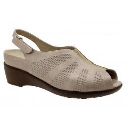 Brede kvinners sandaler PieSanto 190405 I bredde
