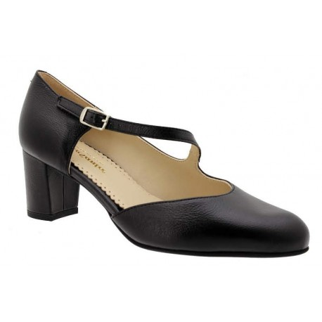 Big size women's shoes PieSanto 190227 nero