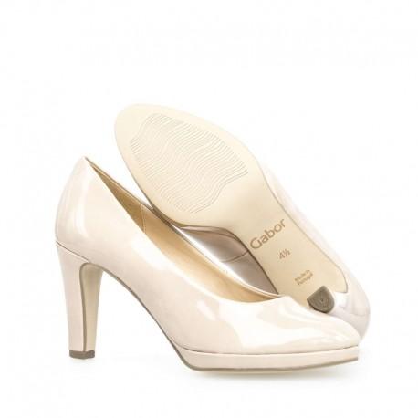 High-heel nude shoes Gabor 21.270.72