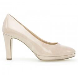 Туфли на высоких каблуках телесного цвета Gabor 21.270.72