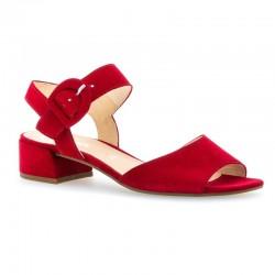 Sarkanas zamšādas sandales Gabor 21.702.15