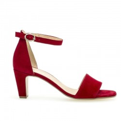 Sarkanas zamšādas sandales Gabor 21.860.15