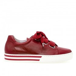 Leather sneakers big sizes Gabor 26.505.58