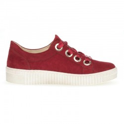 Big size suede sneakers for women Gabor 23.330.10