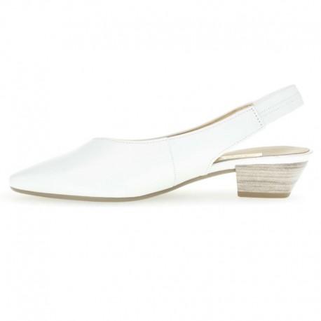 White slingback sandals Gabor 25.630.21