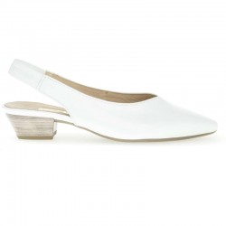 White slingback sandals Gabor 25.630.21