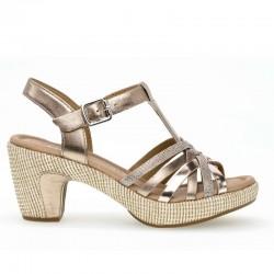Store størrelser kvinners sandaler Gabor 22.736.93