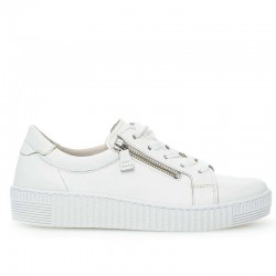 Женские белые кроссовки большого размера Gabor 23.334.21