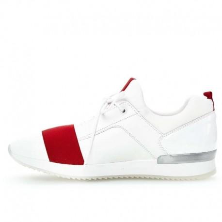 Кожаные кроссовки большие размеры Gabor 24.423.25