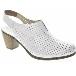 Sandales ar slēgtu purngalu Rieker 40976-80