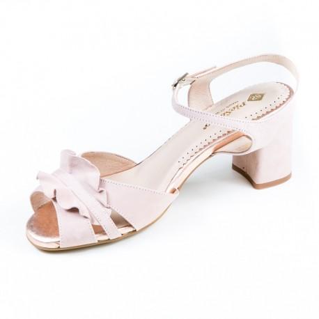 Liela izmēra zamšādas sieviešu sandales PieSanto 190255
