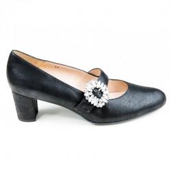 Didelių dydžių moteriški batai su dirželiu PieSanto 190226