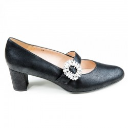 Women's big size shoes with strap PieSanto 190226