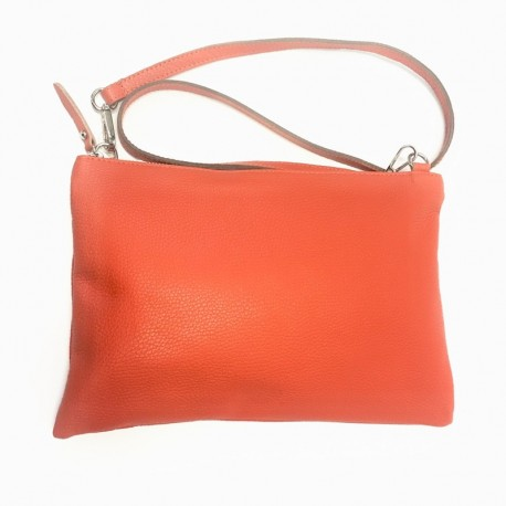Shoulder bag from natural leather Bagitali V303