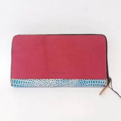 Natural leather wallet Soruka Zero waste 110018