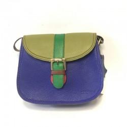 Наплечная сумка из натуральной кожи Soruka Zero waste 047273 19x16 cm