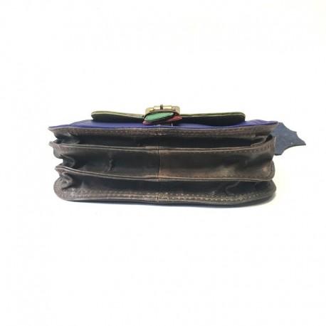 Pleca soma no dabīgās ādas Soruka Zero waste 047273 19x16 cm