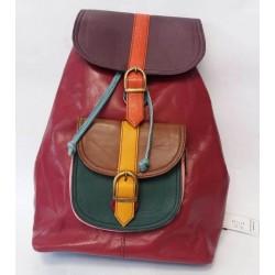 Рюкзак из натуральной кожи Soruka Zero waste 687456