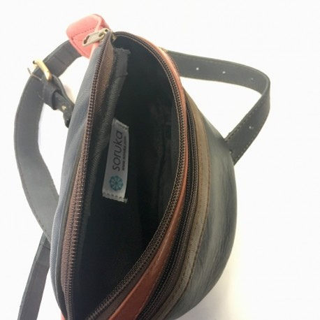 Gurnu soma no dabīgās ādas Soruka Zero waste 047900