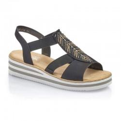 Womens sandals Rieker V02C1-00