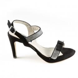 Suured naistejalatsid. Kõrge kontsaga sandaalid. Daniela 19087