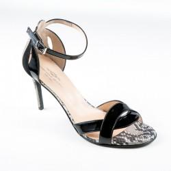 Suured naistejalatsid. Kõrge kontsaga sandaalid. Brenda Zaro T3120A