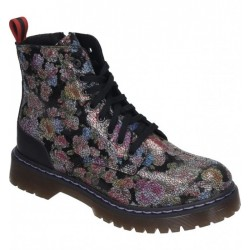 Autumn lace up low boots (with zipper) Manitu 962052