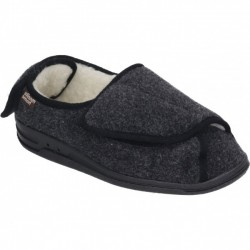 Wide fit men's home slippers 340245