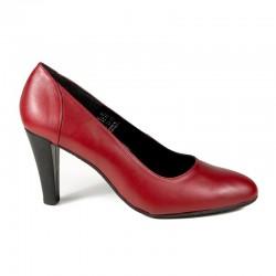 Røde høy hæl sko Bella b. 6569.014