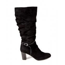 Large size suede autumn boots Bella b. 6570.002