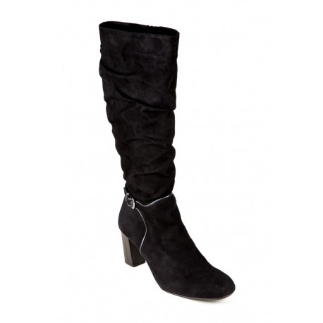 Large size suede autumn boots Bella b. 6570.002