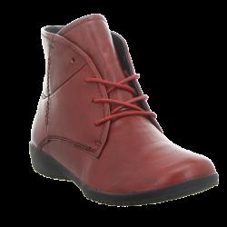 Women's autumn big size ankle boots Josef Seibel 79710 carmin