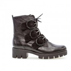 Autumn biker style ankle boots Gabor 34.716.57