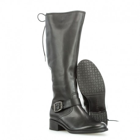 Autumn wide calf boots with little warming Gabor 32.767.57
