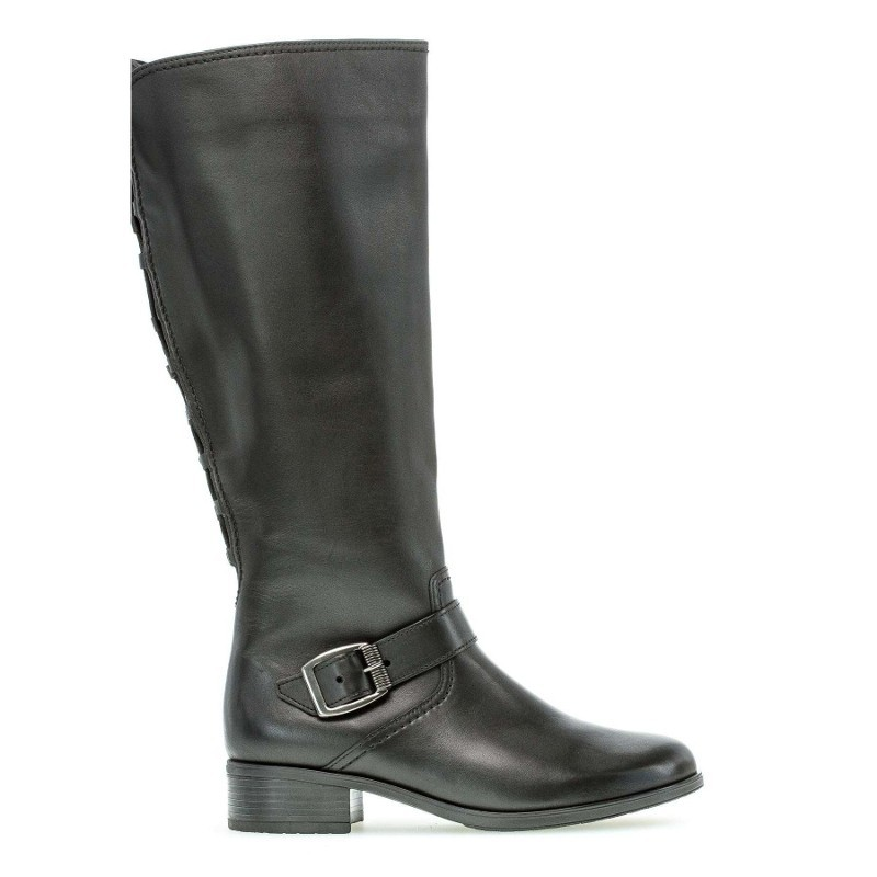Autumn wide calf boots with little