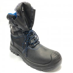 Men's safety shoes with warming Carve Raven XT S3 high ankle