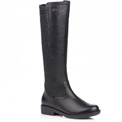 Women's autumn long boots with elastic bootleg Remonte R4970-01