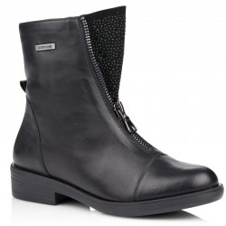 Winter low boots with natural wool Remonte R4976-01