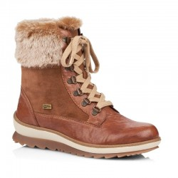 Women's Winter lace up low boots (with zipper) Remonte R4375-23