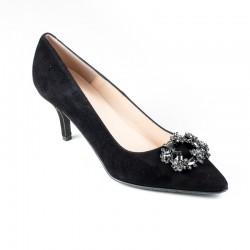 Big size women's shoes kitten heel Brenda Zaro T3459A