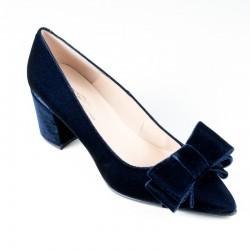 Women's velvet high heels Brenda Zaro T3109A