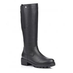 Vinterstøvler med ekte saueskinn Remonte R5374-01