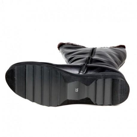 Winter wide calf boots PieSanto 195910 XL