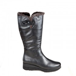 Winter wide calf boots PieSanto 195910 XL