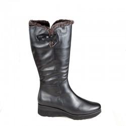 Žieminiai ilgaauliai batai. Platus aulas. PieSanto 195910 XL