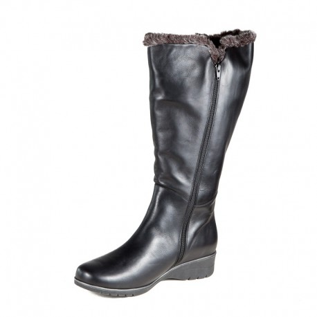 Winter wide calf boots PieSanto 195981 XXL