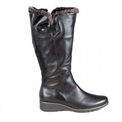 Winter wide calf boots PieSanto 195981 XXL