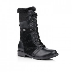 Women's Winter lace up low boots (with zipper) Remonte R5076-02