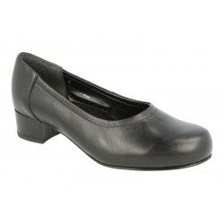Extra wide fit women's shoes DB Shoes 54082A 6E